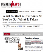 Want to Start a Business? 10 Signs You've Got What It Takes