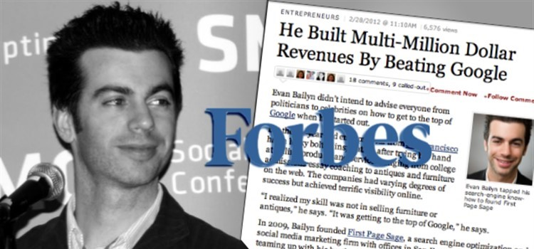 Evan Bailyn featured in Forbes