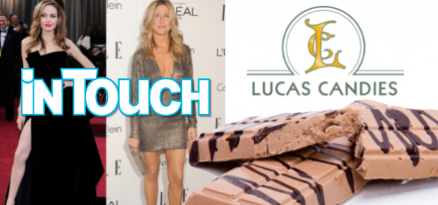 Lucas Candies in InTouch Magazine