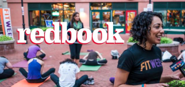 Fitweek Founder, Shana Schiender in Redbook
