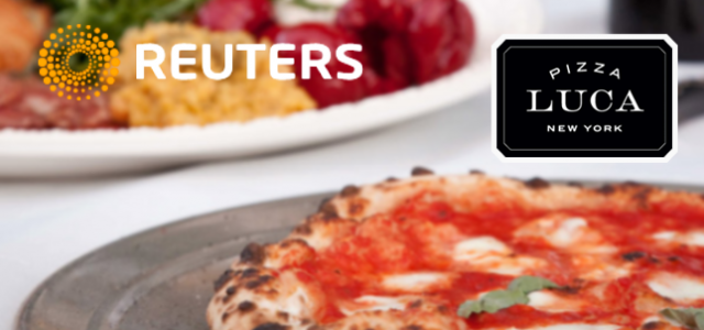 Pizza Luca in Reuters