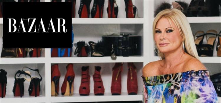 Theresa Roemer in Harper's Bazaar