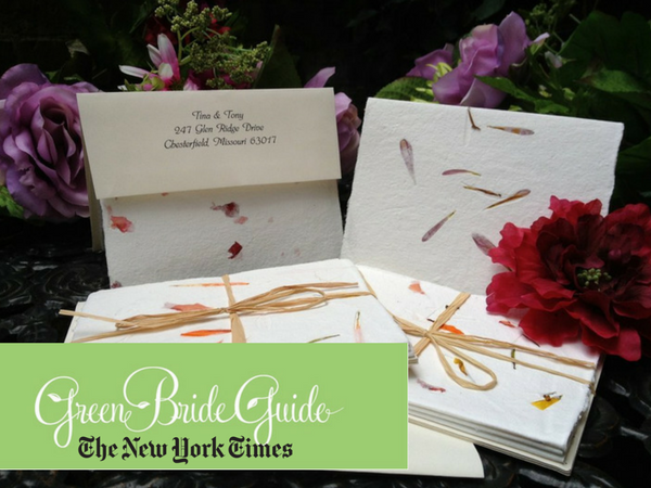 Green Bride Guide in New York Times