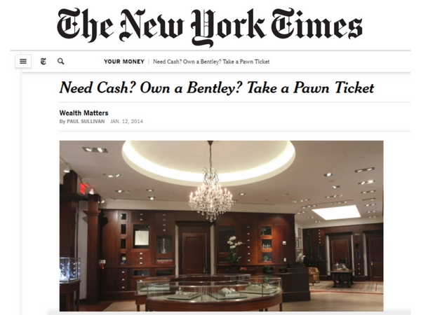Atria Group Featured on the Cover of New York Times